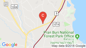 Land for sale in Wang Phong, Prachuap Khiri Khan location map