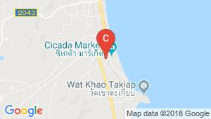 10 Bedroom Hotel / Resort for sale in Hua Hin, Prachuap Khiri Khan location map