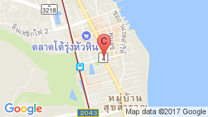 3 Bedroom Villa for rent in Hua Hin, Prachuap Khiri Khan location map