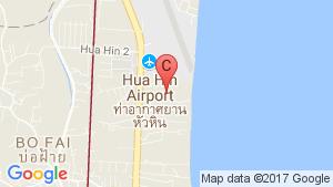 Ocas Hua Hin location map