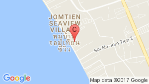 Reflection Jomtien Beach Pattaya location map
