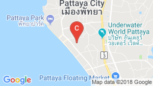 1 Bedroom Condo for Sale or Rent in Jomtien, Chonburi location map