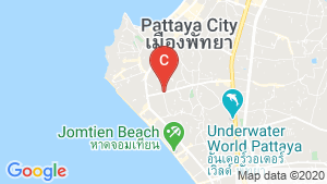 The Luciano Pattaya location map