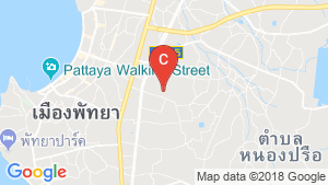 4 Bedroom House for rent in East Pattaya, Chonburi location map