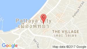 The Urban Pattaya location map