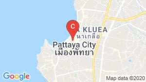 The Avenue Pattaya location map