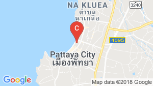 Hotel / Resort for sale in Central Pattaya, Chonburi location map