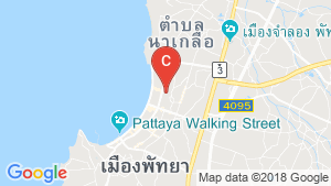 226 Bedroom Hotel / Resort for sale in Central Pattaya, Chonburi location map