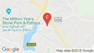 The Vineyard Pattaya location map
