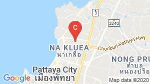 Once Pattaya location map