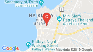 Ramada Mira (North Pattaya) location map