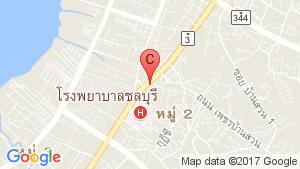 แผนที่สถานที่ ศุภาลัย ซิตี้ รีสอร์ท ชลบุรี