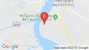 Warehouse / Factory for sale in Thai Ban, Samut Prakan near BTS Bearing location map