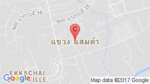 Commercial for sale in Samae Dam, Bangkok location map