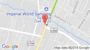 The Metropolis Samrong Interchange location map