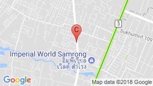 The Canvas Sukhumvit 76 - Samrong location map