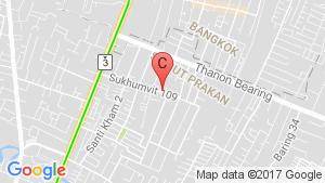 LUMPINI VILLE SUKHUMVIT 109-BEARING location map