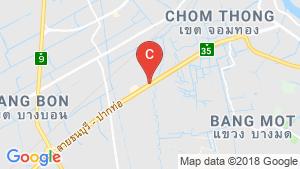 Retail Space for rent in Samae Dam, Bangkok location map