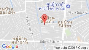 แผนที่สถานที่ บ้านกลางเมือง เอส-เซนส์ ศรีนครินทร์