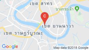 Shophouse for sale in Yan Nawa, Bangkok location map