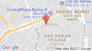 The Trust Residence Ratchada-Rama 3 location map