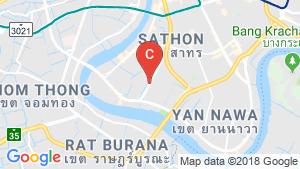 5 Bedroom Shophouse for sale in Bang Kho Laem, Bangkok location map