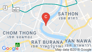 Warehouse / Factory for rent in Bang Kho Laem, Bangkok near BTS Saphan Taksin location map