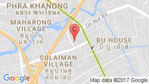The Link Advance Sukhumvit 50 location map