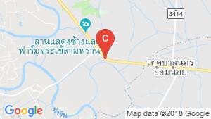 The Shelter Phetkasem-Omyai location map