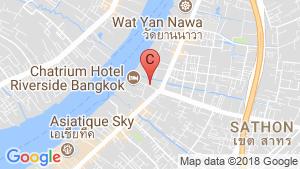Chatrium Residence Riverside location map