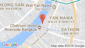 2 Bedroom Condo for sale in Four Seasons Private Residences Bangkok at Chao Phraya River, Yan Nawa, Bangkok near BTS Saphan Taksin location map