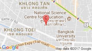 แผนที่สถานที่  ให้เช่าคอนโด วีธารา สุขุมวิท 36  1 ห้องนอน ใน พระโขนง, คลองเตย ใกล้  BTS ทองหล่อ