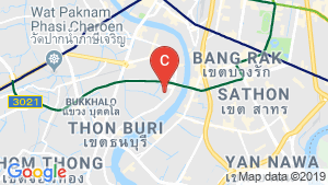 HYPE Sathorn-Thonburi location map