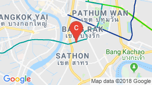 แผนที่สถานที่ Bhiraj Tower At Sathorn