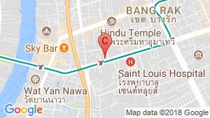 The Diplomat Sathorn location map