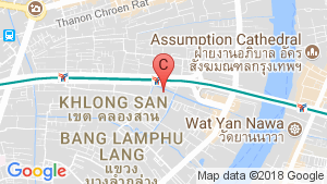2 Bedroom Condo for rent in The Bangkok Sathorn-Taksin, Khlong Ton Sai, Bangkok near BTS Krung Thon Buri location map