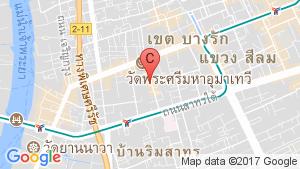 2 Bedroom Condo for sale in The Room Sathorn Thanon pun, Silom, Bangkok near BTS Surasak location map