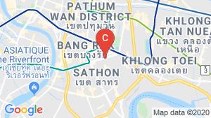 Supalai ICON Sathorn location map