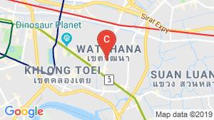 The Rich Ekkamai location map