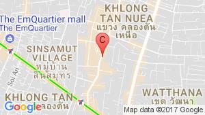 HQ Thonglor by Sansiri location map