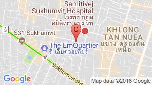 1 Bedroom Condo for sale in WALDEN SUKHUMVIT 39, Khlong Tan Nuea, Bangkok location map