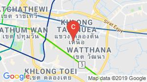 แผนที่สถานที่ Oakwood Residence Sukhumvit Thonglor