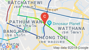 Commercial for sale in Khlong Toei, Bangkok near BTS Asoke location map