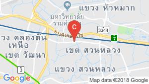 Lumpini Ville Phatanakan-Srinakarin location map