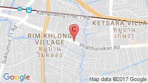แผนที่สถานที่ Baan Klang Muang Urbanion Srinakarin