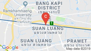 The Rich Rama 9-Srinakarin location map