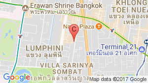 2 Bedroom Condo for rent in Athenee Residence, Lumpini, Bangkok location map