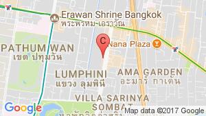 แผนที่สถานที่ อาคาร 208 ถนนวิทยุ