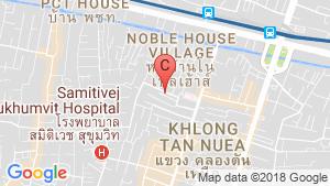 แผนที่สถานที่ เค เฮ้าส์ สุขุมวิท 55(K. House Sukhumvit 55)