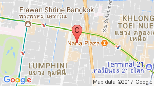 Office for rent in Athenee Tower, Lumpini, Bangkok location map